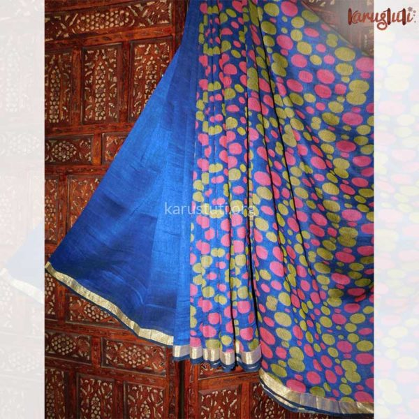Luxurious Linen Jamdani Saree