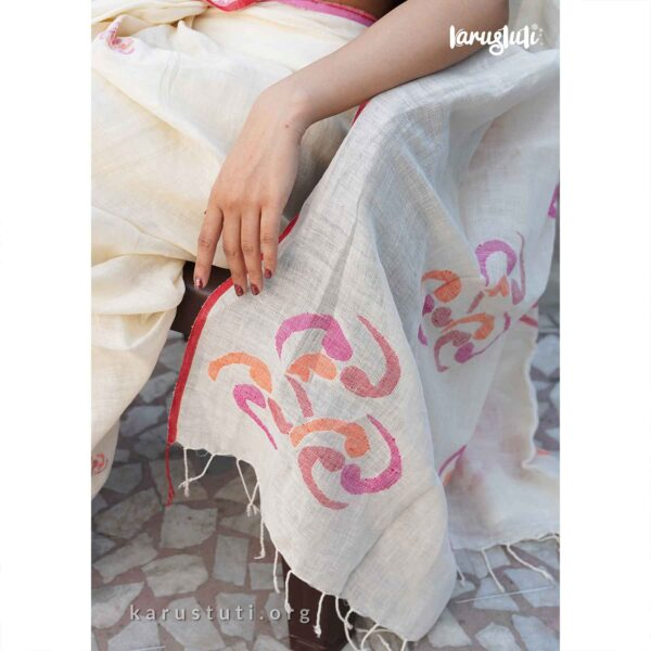 summer linen handwoven jamdani